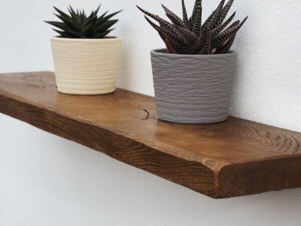 Rustic Oak Shelf